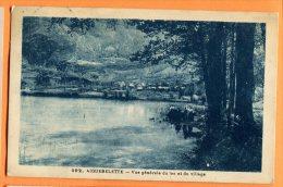 LOL039, Aiguebelette, Vue Du Lac Et Du Village, 392, Animée, Circulée 1935 - Aiguebelle