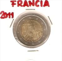 *FRANCIA - 2 Euro Commemorativo 2011: 30° ANNIVERSARIO DELLA FESTA DELLA MUSICA - Francia