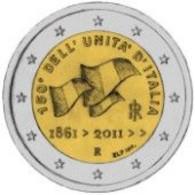 *ITALIA - 2 Euro Commemorativo 2011: 150° ANNIVERSARIO DELL'UNITA' D'ITALIA - Italia