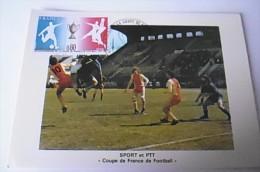 Premier Jour Coupe De France De Football - Paris 11/06/1977 - FDC