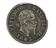 50 Centesimi - Italie - 1863 - Argent - TTB - 1861-1946 : Kingdom
