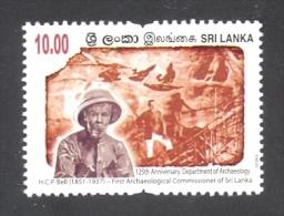 Sri Lanka 2015 Department Of Archaeology Rs10 MNH Stamp - Sri Lanka (Ceylan) (1948-...)