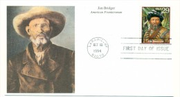 1994 USA Jim Bridger 29c First Day Cover - First Day Covers (FDCs)
