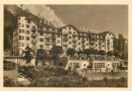 Palace Hotel Cristallo, Cortina D'Ampezzo, BL Belluno, Italy Postcard Unposted - Belluno