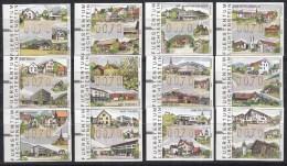 Liechtenstein - Automatenmarken - Die Post Im Dorf/De Posterijen In Het Dorp - MNH - M12-23 - Post