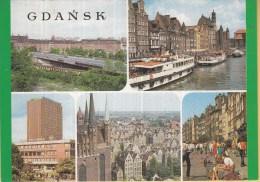 Polen/Polska/Pologne – Gdansk/Danzig - Kleur/color - Gebruikt/used - Zie Scan - Polen