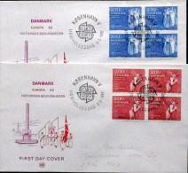 Denmark 1982 EUROPA   MiNr.749-50 FDC  ( Lot 6014 ) - FDC