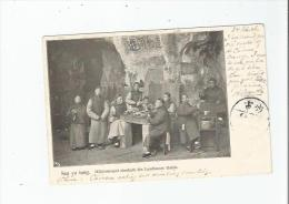 SAN YU TUNG . HOHLENTEMPEL OBERHALB DES LANDHAUSES ROHDE 1906 - Chine