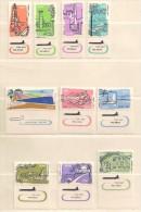 ISRAEL  ( D17 - 1616 )  1960    N° YVERT ET TELLIER    N°  18/27  N** - Airmail
