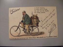 A351.  CPA. Allemagne. Gruss  Vom Salvator.  Beau Plan . Ecrite & Voyagée 1901 - Germania
