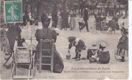 PARIS, P´tits Metiers Parisiens , Les Petits Coins Tranquilles, Serie éditeur Porcher V., VP N°36 - Petits Métiers à Paris