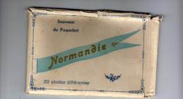 POCHETTE De 20 Photos - SOUVENIR DU PAQUEBOT NORMANDIE - OPTIQUE MEDICALE G LACAILLE LE HAVRE - Paquebote