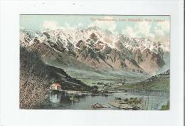 THE REMARKABLES LAKE WAKATIPU NEW ZEALAND 1908 - Nouvelle-Zélande