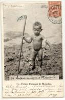 NOUVELLE CALEDONIE - MOINDOU - ENFANT CANAQUE - Nouvelle Calédonie