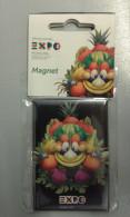 Alt830 Magnete Magnet Expo Milano 2015 Universal Exposition Mascotte Food Cibo Energy Mascotte Foody - Publicidad