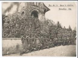 Armée Suisse, Photo 17x23 De Bttr. Obs. 74 à Donneloye 1936 (820) - Documents