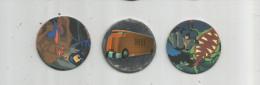 E-T-I , POG , BATMAN , N° 55/63/98 , LOT DE 3 POGS , Frais Fr: 1.30€ - Figurines