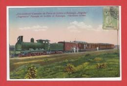 AFRIQUE --  ANGOLA --  Um Comboio  Caminho De Ferro De Lobito à Katanga - Angola