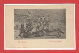 AFRIQUE --  ANGOLA  -- Tocadores De Marimba - Angola