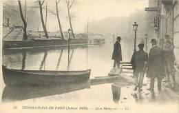 A16-0929 :   PARIS LES INONDATIONS  QUAI MALAQUAIS - Inondations De 1910