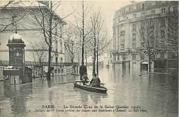A16-0930 :   PARIS LES INONDATIONS  AUTEUIL - Inondations De 1910