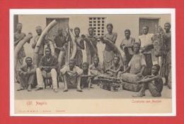AFRIQUE --  ANGOLA  -- Carabana Com Marfim - Angola