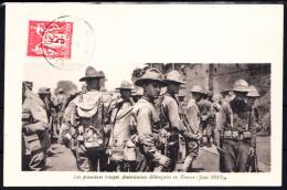 FRANCE - N° 216 - TROUPES AMERICAINES EN FRANCE  - JUIN 1917. - Etats-Unis