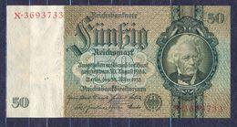 Germany - 1933 -50 Mark....X/X.. ..P182a,  R175a,..XF - 50 Reichsmark