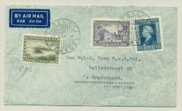 Nederlands Indië - 1947 - POELOE SAMBOE On Cover With Contents To Den Haag / Nederland - Netherlands Indies