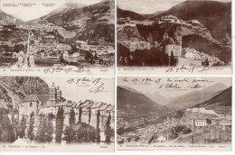 BRIANCON - 4 CPA- Les Forts - Fort Du Chateau - Les Remparts - (83230) - Briancon