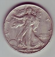 - USA - Etats Unis - Half Dollar Liberty  1946. - EDICIONES FEDERALES