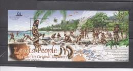 """VANUATU - """"Pacific Explorer 2005"""" Exposition Philatélique - Homme Avec Outil, Homme Dépeçant Des Poissons, Etc - Vanuatu (1980-...)"""