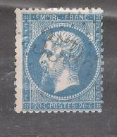 Empire N° 22  Obl GC 3585 De ST SAINT ETIENNE LES ORGUES , Basses Alpes / Haute Provence, INDICE 10 ,B/ TB - 1862 Napoleon III