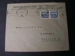 == DK Briev 1921 MeF - 1913-47 (Christian X)
