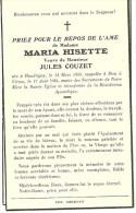 Meix Devant Virton Virton Maria Hisette Veuve Jules Couzet Houdriny 1889 Virton 1956 - Meix-devant-Virton