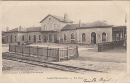 CPA 51 Sainte Menehould - La Gare - Sainte-Menehould