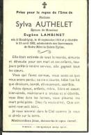 Meix Devant Virton   Sylva Authelet Epouse Eugene Lambinet Houdriny 1910 1953 - Meix-devant-Virton