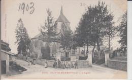 CPA 51 Sainte Menehould - L'église - Sainte-Menehould