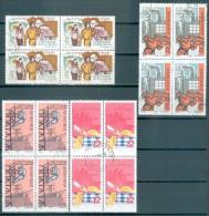 VIETNAM - Mi-Nr. 623 - 623 Im Viererblock - Industriearbeiter - Gestempelt - Vietnam
