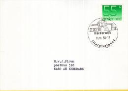Nederland – Stempel Filatelieloket - Harderwijk - 11 Juni 1988 - Poststempel