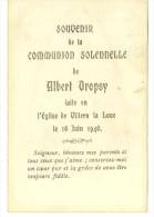 Albert Dropsy  Communion Solennelle Villers La Loue 1946 - Meix-devant-Virton
