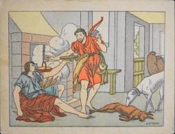 HISTOIRE SAINTE - Série IV - N° 31 - Esau Vend Son Droit D'Ainesse - Illustré Par : G. Le Doux -  En BE - - Devotion Images