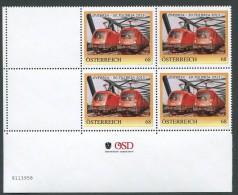 ÖSTERREICH / PM Nr. 8113958 / 4er Block Mit Nummer / ÖVEBRIA - 50. TULBRIA 2015 / Postfrisch / ** - Personalisierte Briefmarken
