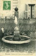 CHAMPS SUR MARNE - Fontaine De La Source Du Luzat XVIII Siècle Adressé à Mle D..S Couturière à VAsselay - Other Municipalities