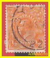 AUSTRALIA -   SELLO  1/2 PENNY  1913-14  King George V - 1913-36 George V : Heads