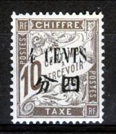 Cina Timbre Taxe 1911 N. 21 C. 4 Su C. 10 Bruno MH Catalogo € 4