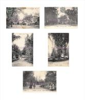 47 - TONNEINS  - Lot De 5 Cpa - Jardin Public  - Voir Les 10 Scans - Tonneins