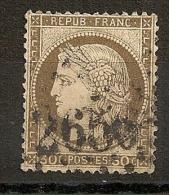 GC 2656 NICE Alpes Maritimes Sur 30C Cérès. - 1871-1875 Ceres