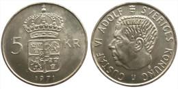 5 Kronor 1971 (Sweden) Silver - Suecia
