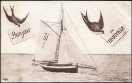 14 . TROUVILLE . Un Boujour De Trouville - Trouville